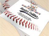 Baseball Graduation Invitations Baseball Player Printable Graduation Party Invitation
