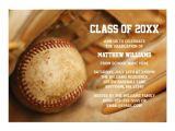 Baseball Graduation Invitations Take Me Out to the Ballgame Perfect Postage