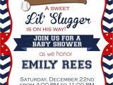 Baseball Invitations for Baby Shower Baseball Baby Shower Invitations Printable