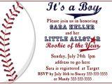 Baseball themed Baby Shower Invites Baseball Baby Shower Invitation