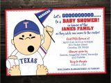 Baseball themed Baby Shower Invites Baseball Baby Shower Invitations Sports or Tailgate themed