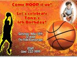 Basketball Birthday Party Invitation Wording Basketball Birthday Invitations Candy Wrappers Thank You