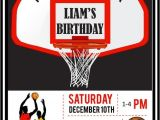 Basketball Birthday Party Invitation Wording Basketball Birthday Invitations Printable