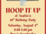 Basketball Birthday Party Invitation Wording Basketball Party Invitation Wording Golden Sweet 16