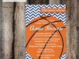 Basketball themed Baby Shower Invitations Basketball Baby Shower Invitation Can Be Made by