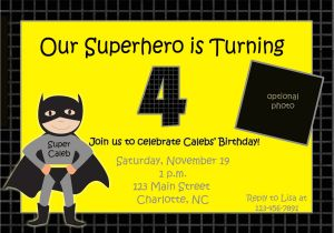 Batman and Robin Birthday Invitations Batman Birthday Invitations Templates Ideas Batman and