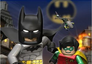 Batman and Robin Birthday Invitations Lego Batman and Robin Birthday Invitation Digital File