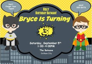 Batman and Robin Birthday Invitations Looking for Birthday Batman Invitations the Un