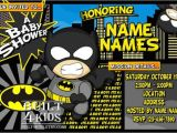 Batman Baby Shower Invitation Templates Batman Baby Shower Invitations Batman Baby Shower