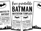 Batman Baby Shower Invitation Templates Free Batman Invitation Template Paper Trail Design