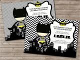 Batman Baby Shower Invitation Templates Superhero Baby Shower Invitations