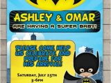 Batman Baby Shower Invites Batman Baby Shower Invitations Custom Ic Book Baby