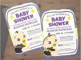 Batman Baby Shower Invites Custom Batman Superhero Baby Shower Invitation Digital