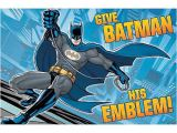 Batman Birthday Invitations Walmart Batman Party Game Walmart Com