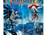 Batman Birthday Invitations Walmart Batman Scene Setter Kit Walmart Com