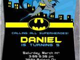 Batman Birthday Invites Free Printables Supper Heroes Batman Birthday Party Printable Invitation