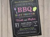 Bbq Baby Shower Invites Baby Shower Bbq Invitation Bbq Baby Invitations Bbq Baby