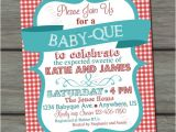 Bbq Baby Shower Invites Bbq Baby Shower Invitation Barbeque Baby Shower Baby Q