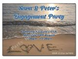 Beach themed Engagement Party Invitations Beach themed Engagement Party Invitations A Birthday Cake