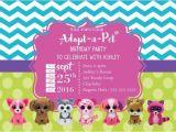 Beanie Boo Party Invitations Beanie Boo Birthday Invitation Girl Birthday by