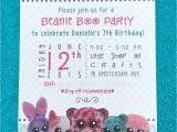 Beanie Boo Party Invitations Beanie Boo Bonanza B Lee events