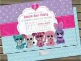 Beanie Boo Party Invitations Beanie Friends Birthday Party Invitation by Twinspiringdesign