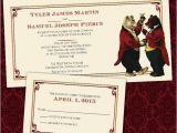 Bear Wedding Invitations Custom toasting Bears Gay Same Sex Wedding by Invigaytions