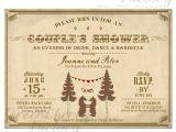 Bear Wedding Invitations Items Similar to Couple Shower Bbq Invitation Bear