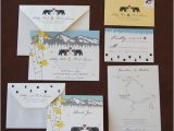 Bear Wedding Invitations Love Bears Wedding Invitation Suite Paperfish Designs