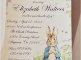 Beatrix Potter Baby Shower Invitations Peter Rabbit Beatrix Potter Baby Shower or by Smashcakeparty