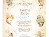 Beatrix Potter Birthday Invitations Beatrix Potter Baby Shower Invitation