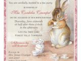 Beatrix Potter Birthday Invitations Beatrix Potter Custom Birthday Party Invitation 5 25