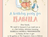 Beatrix Potter Birthday Invitations Flopsy Bunnies Beatrix Potter Birthday Party Invitation
