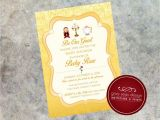 Beauty and the Beast Baby Shower Invitations Be Our Guest Beauty and the Beast S Belle Inspired 5×7