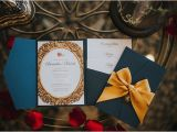 Beauty and the Beast Inspired Wedding Invitations Be Our Guest Beauty and the Beast Inspired Wedding Ideas