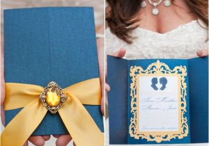 Beauty and the Beast Wedding Invites 25 Whimsical Wedding Ideas for Disney Obsessed Couples