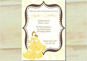 Beauty and the Beast Wedding Shower Invitations 41 Best Images About Beauty and the Beast Shower theme On