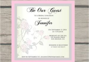 Beauty and the Beast Wedding Shower Invitations Beauty and the Beast theme Bridal Shower Invitations