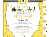 Bee Baby Shower Invites Printable Mommy to Bee Baby Shower Invitation