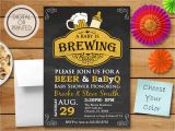 Beer Bbq and Baby Shower Invites A Baby is Brewing Invitation Bbq Shower Q with Baby Shower