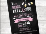 Beer Bbq and Baby Shower Invites Babies Beer & Bbq Baby Shower Invitation by bydandeliondesign