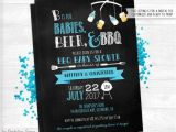 Beer Bbq and Baby Shower Invites Babies Beer & Bbq Baby Shower Invitation Printable