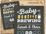 Beer Bbq and Baby Shower Invites Bbq & Beer Baby Shower Invitation Beer Diaper Party