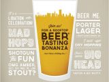 Beer Tasting Birthday Party Invitations Beer Tasting Invitation Flyers and Brochures Pinterest