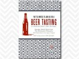 Beer Tasting Birthday Party Invitations Items Similar to Printable Beer Tasting Party Invitation