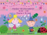 Ben and Holly Party Invites Ben and Holly Clipart 67