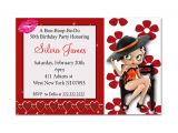 Betty Boop Birthday Party Invitations Betty Boop Birthday Party Invitation by tonypartyfavor On Etsy