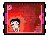 Betty Boop Bridal Shower Invitations Betty Boop Bridal Shower Invitations Sempak C9801fa5e502