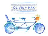 Bicycle Baby Shower Invitations Baby Shower Invitations Bicycle Built for 3 at Minted