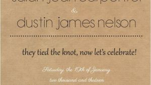 Big Engagement Party Small Wedding Invitation Wording Rustic Reception Invite I Like the Wording Of This